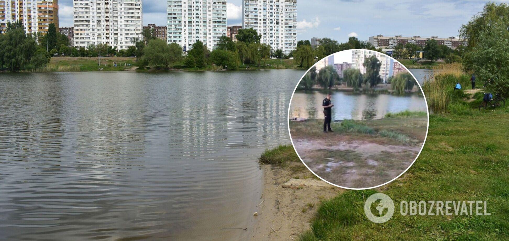 В киевском озере мужчина запутался в 'подводной крапиве' и утонул. Фото и видео 18+