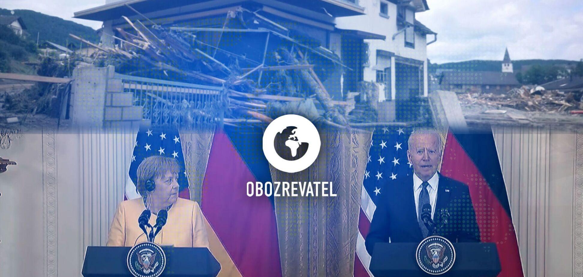 Масштабные наводнения накрыли Европу, а президент США и канцлер Германии подписали Вашингтонский договор – дайджест международных событий