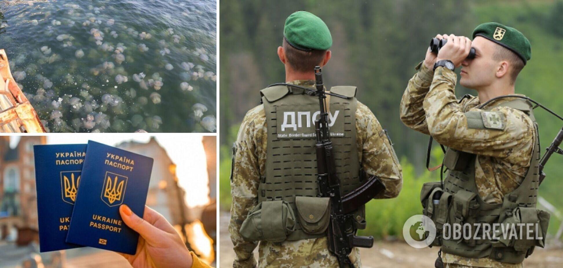 Новини України: на курортах нашестя комарів і медуз, а на кордоні з РФ СБУвці побили прикордонників