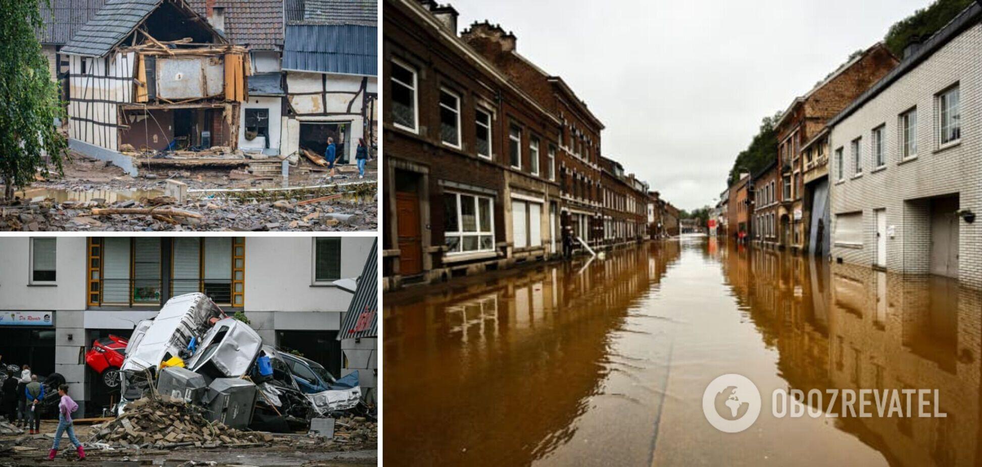 Количество жертв масштабного наводнения в Европе выросло до 200, сотни пропавших без вести