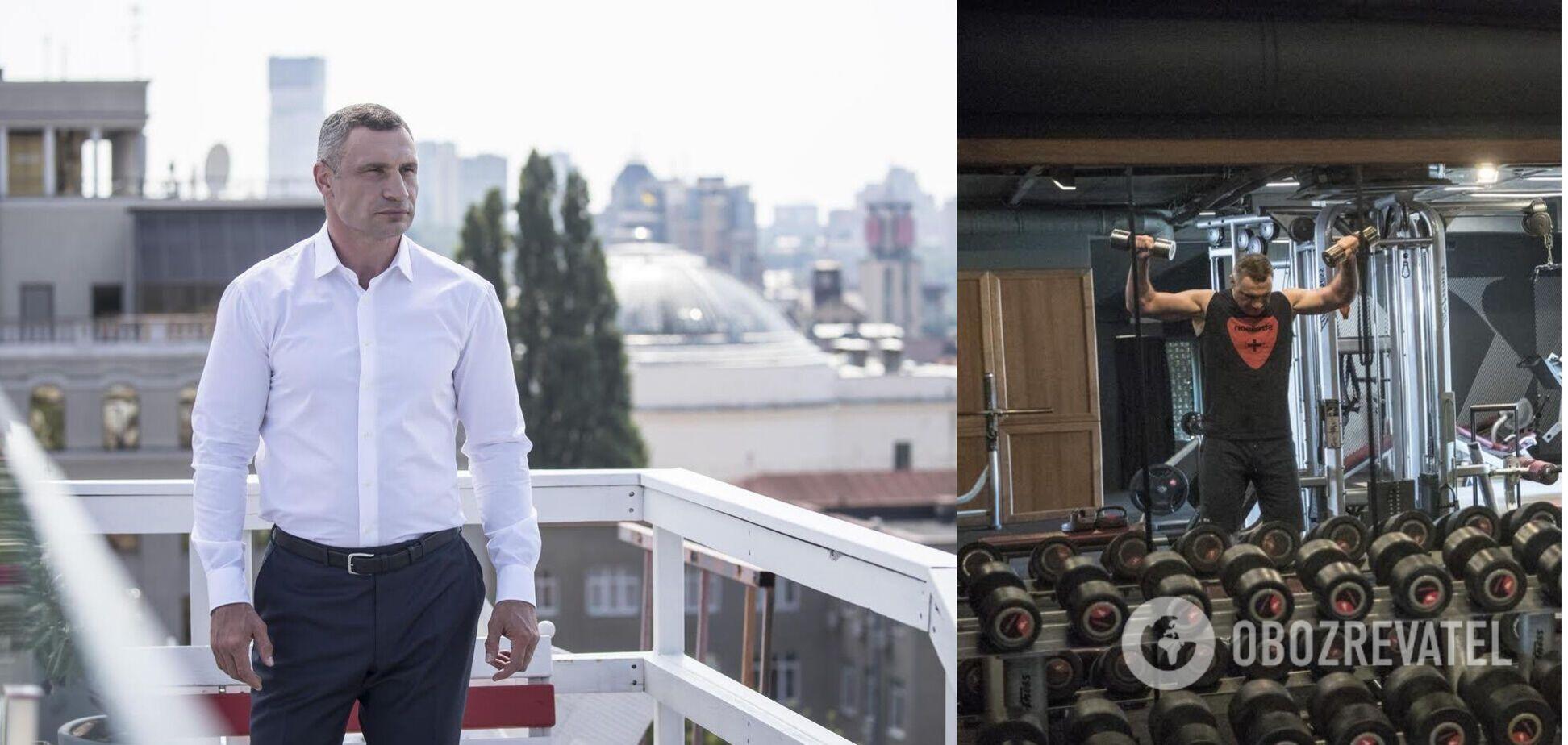 В фильм вошли уникальные кадры из личного архива Кличко