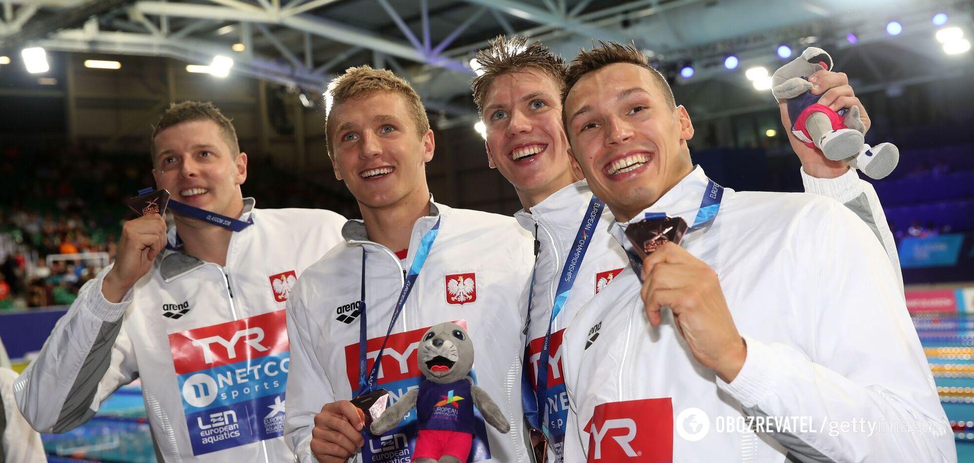 Польские пловцы