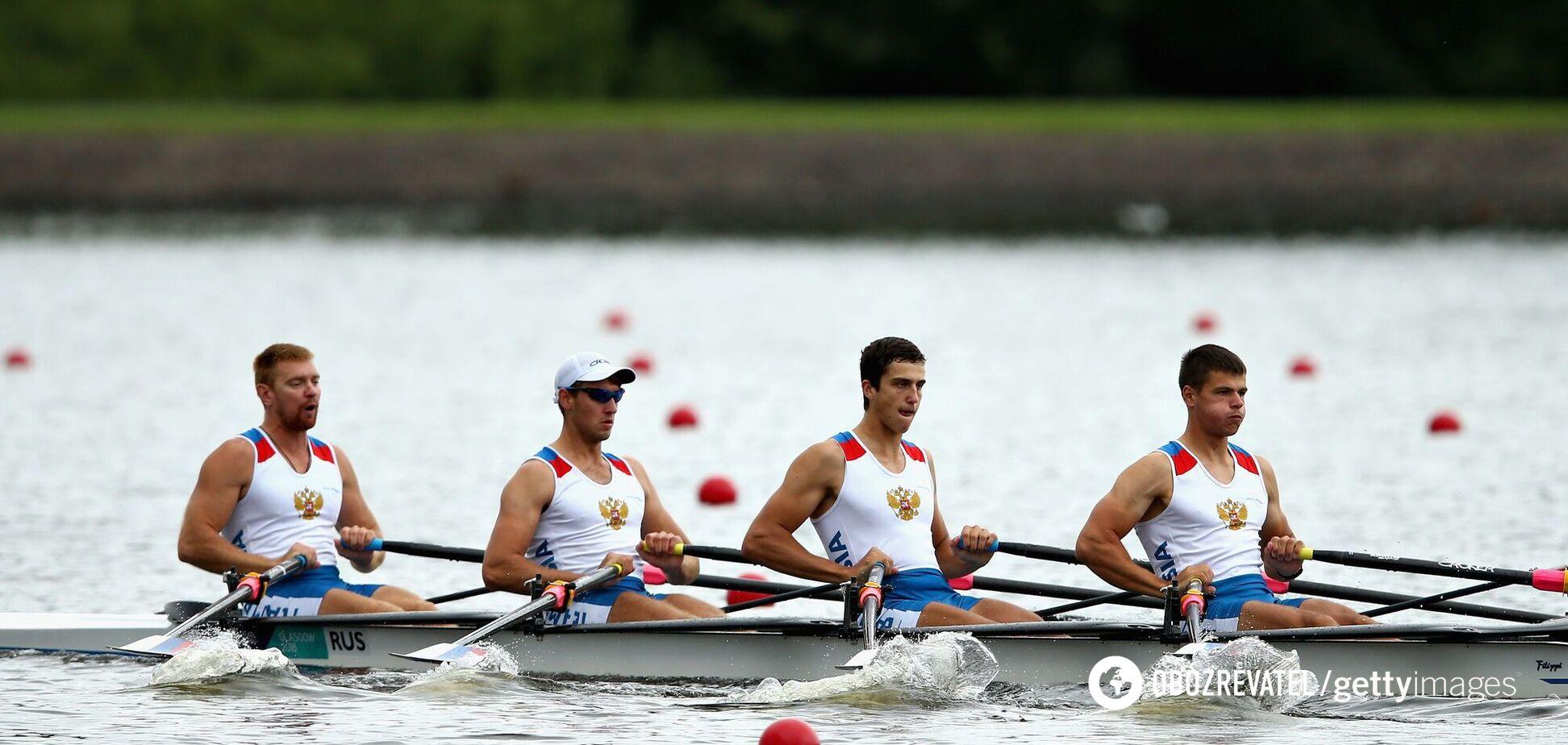 Російські веслярі знялися з Олімпіади в Токіо