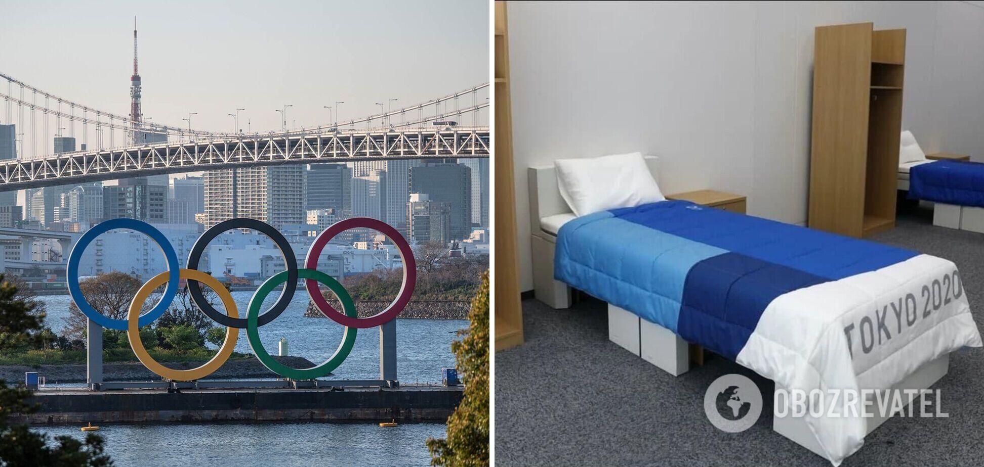 Антисекс кровати Олимпиада в Токио
