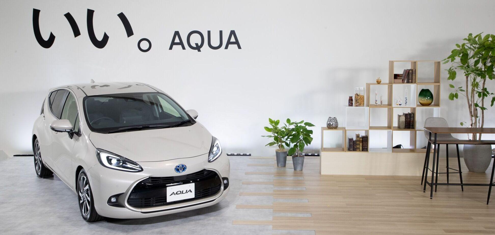 Toyota представила на японському ринку друге покоління моделі Aqua