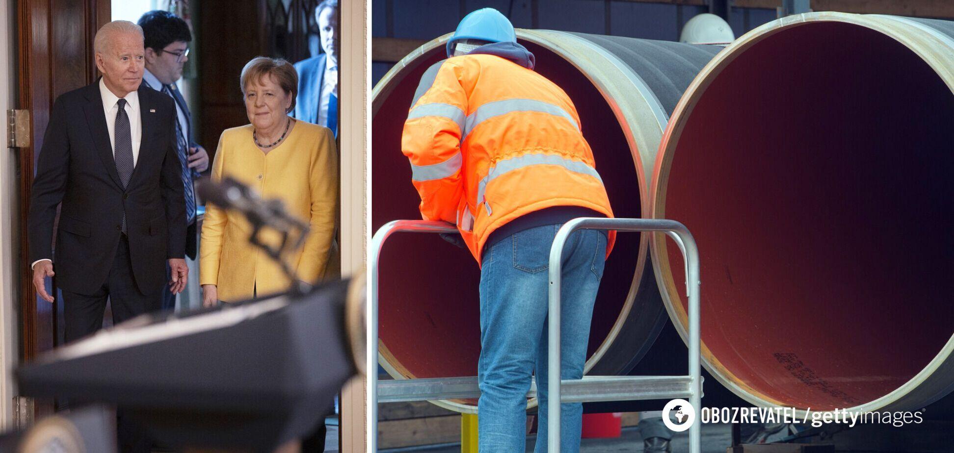 США и Германия договорились увеличить инвестиции в Украину из-за 'Северного потока-2' – Reuters