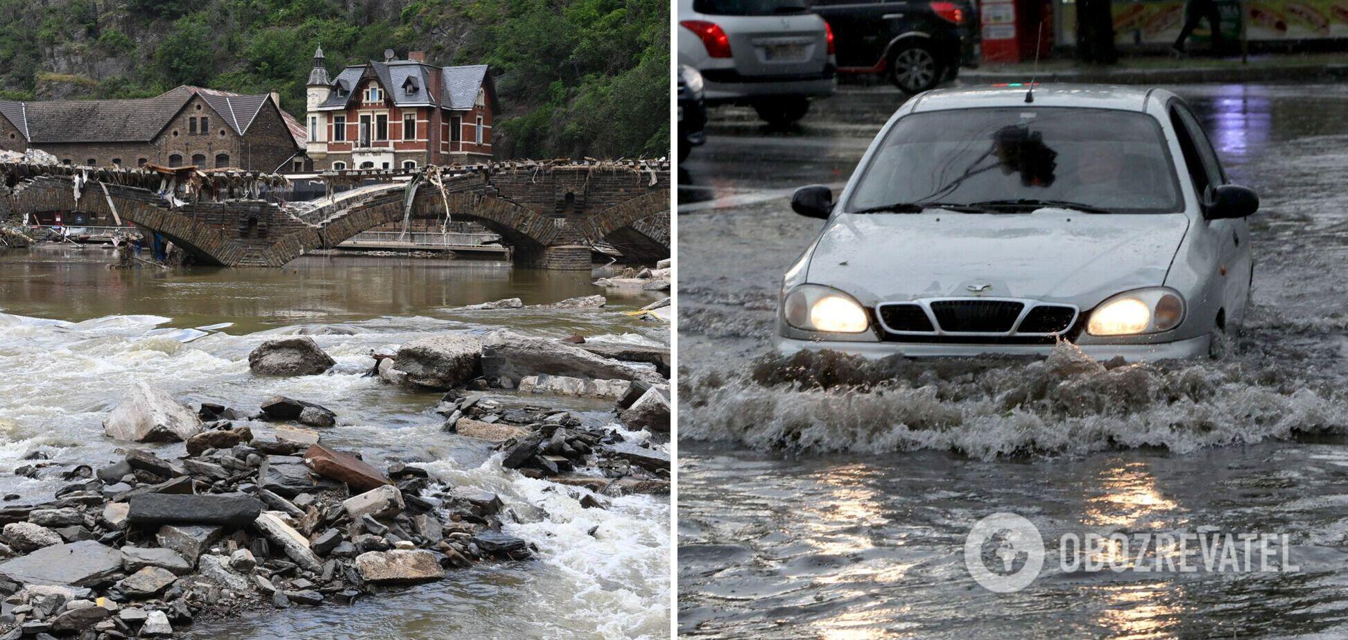 В Україні можливий потоп, як у Німеччині? Синоптики дали пояснення