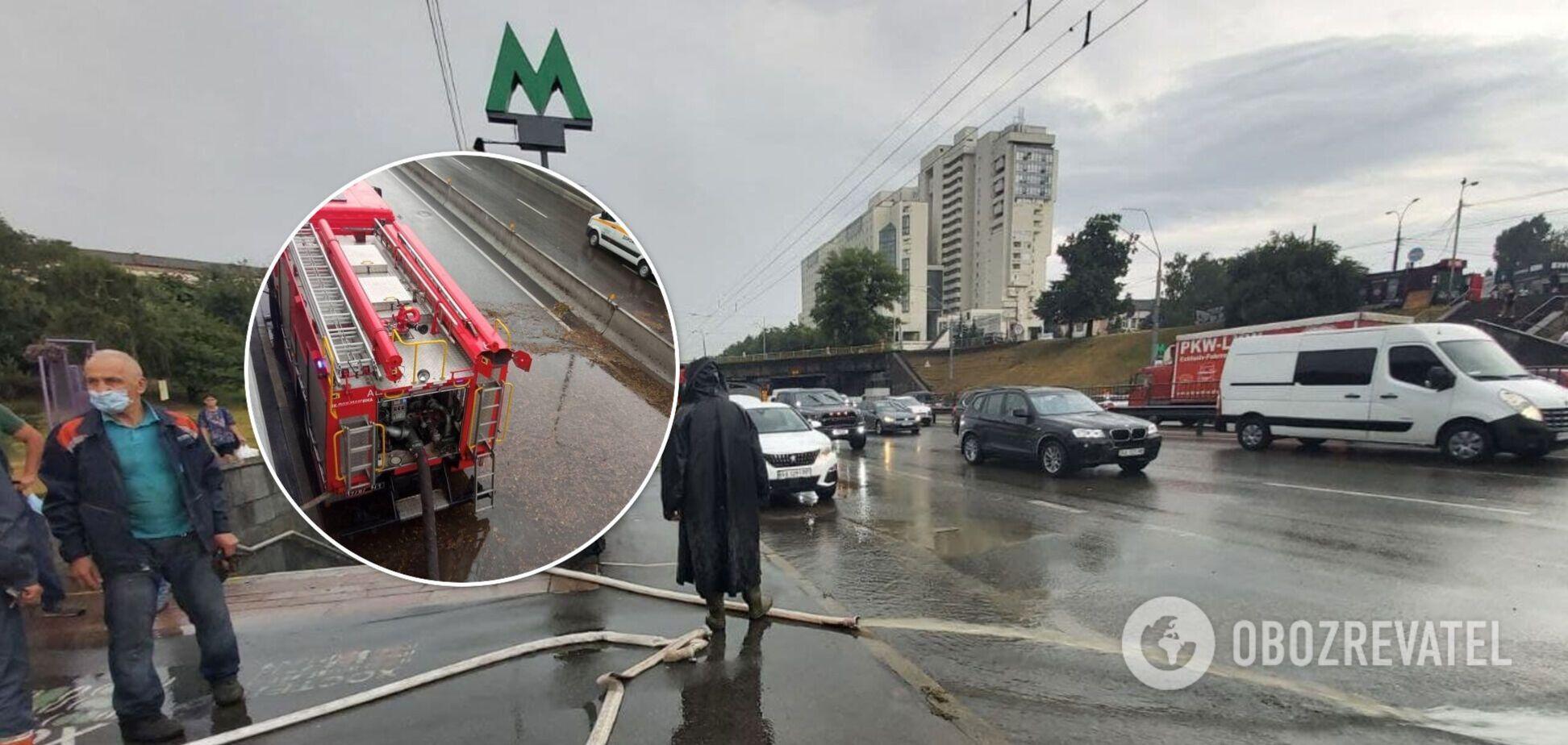 Ливень, накрывший Киев, стал рекордным: Кличко рассказал, как коммунальщики борются со стихией