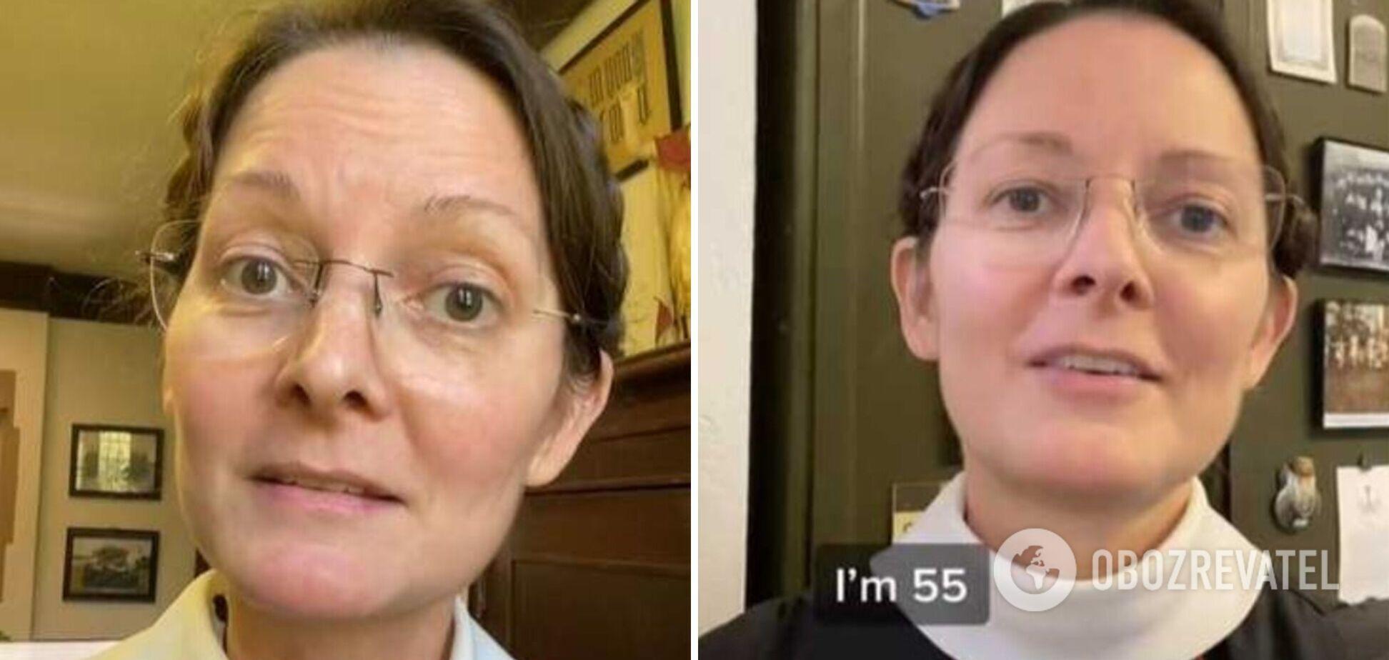 Монахиня здивувала користувачів своєю молодістю