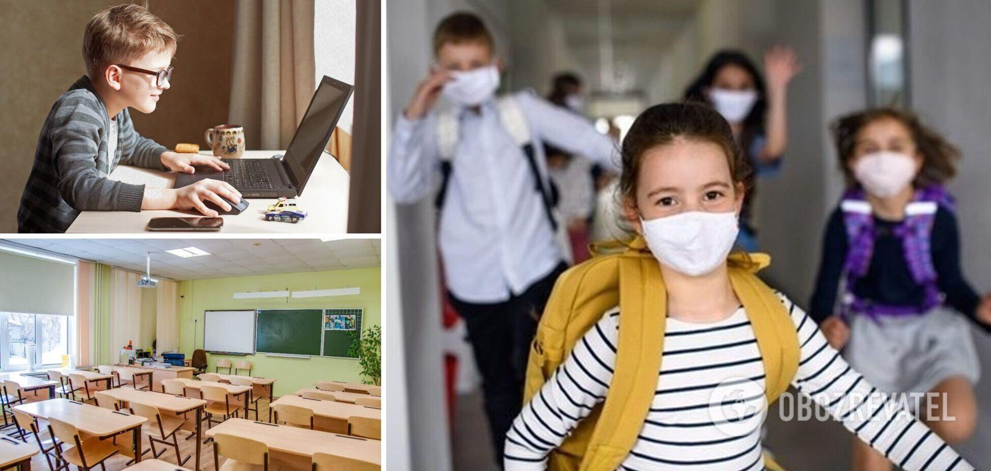 'Без прививки не пустят': каким будет новый учебный год в Украине и как избежать дистанционки