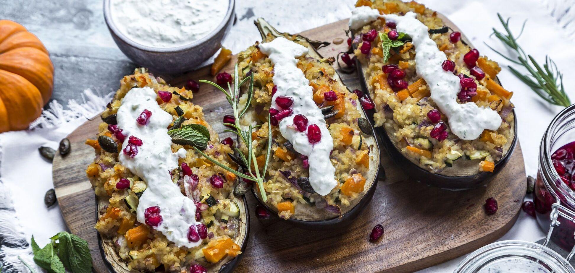Вкусные блюда из баклажанов