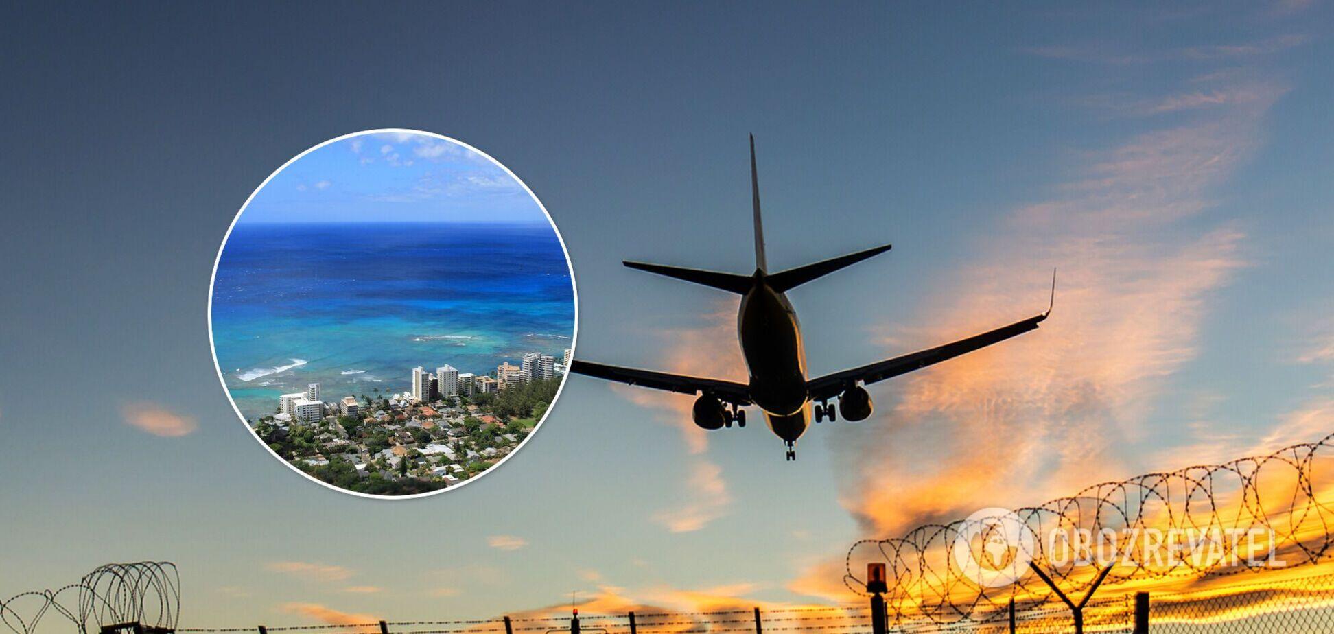 Пілотам довелося посадити Boeing 737 на океан біля Гаваїв: подробиці події
