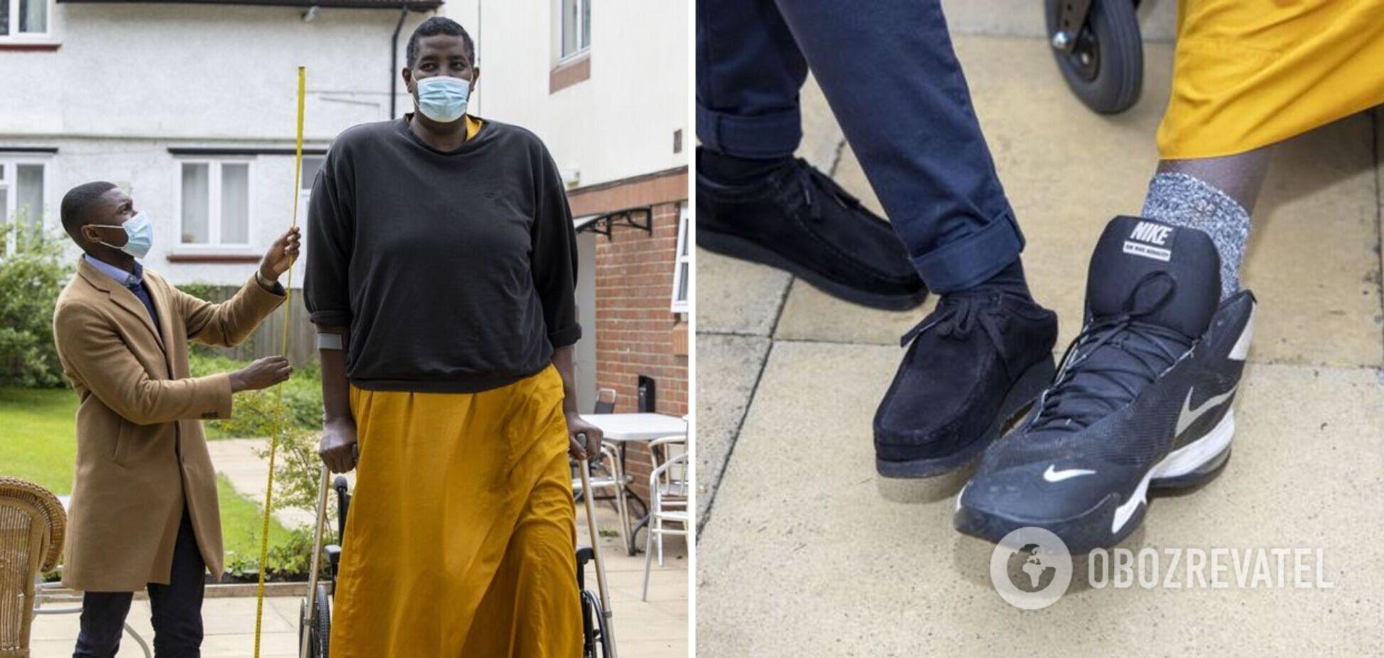 Найвищий чоловік у світі серйозно хворий: як він виглядає