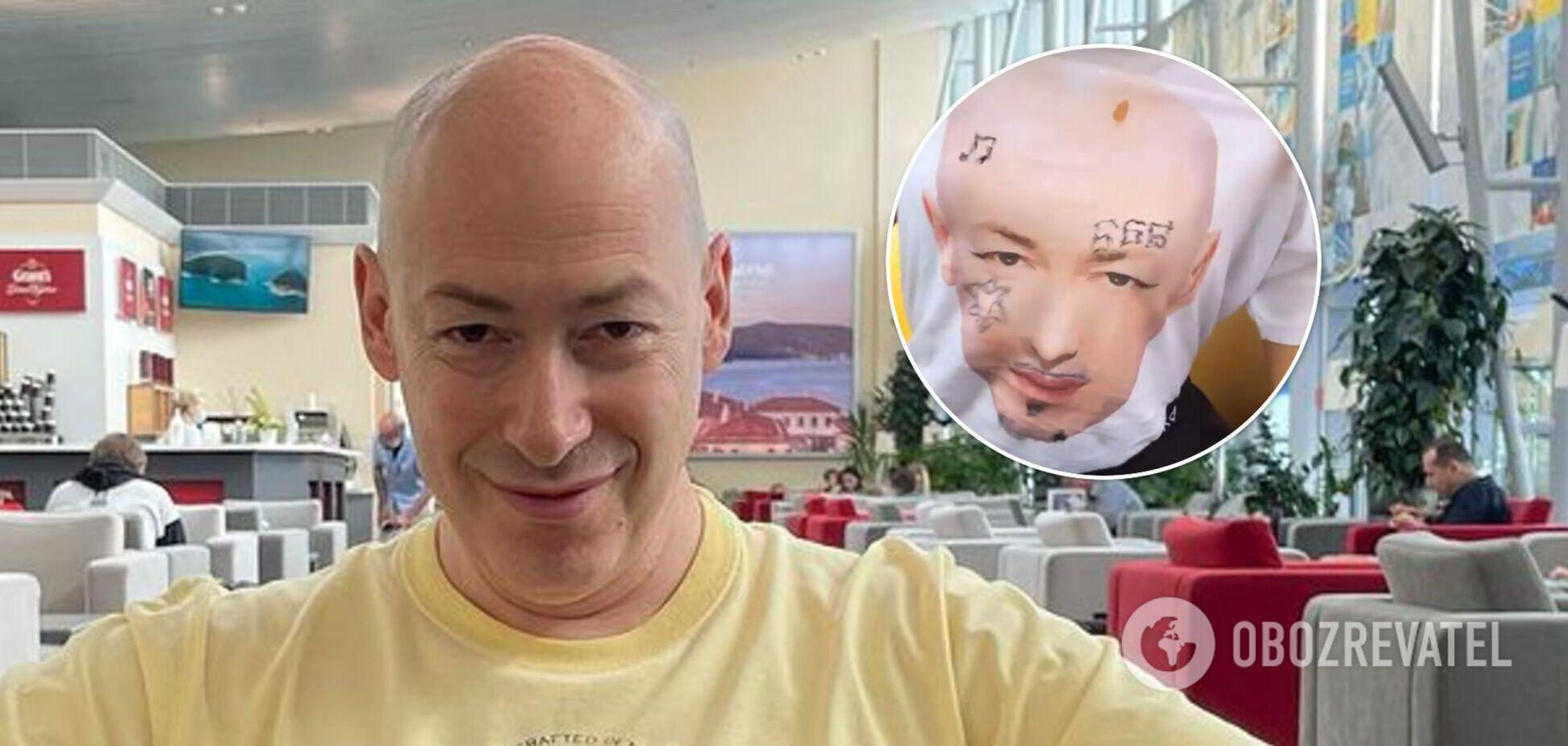 Дмитрий Гордон ответил Моргенштерну, который разрисовал его футболку. Видео