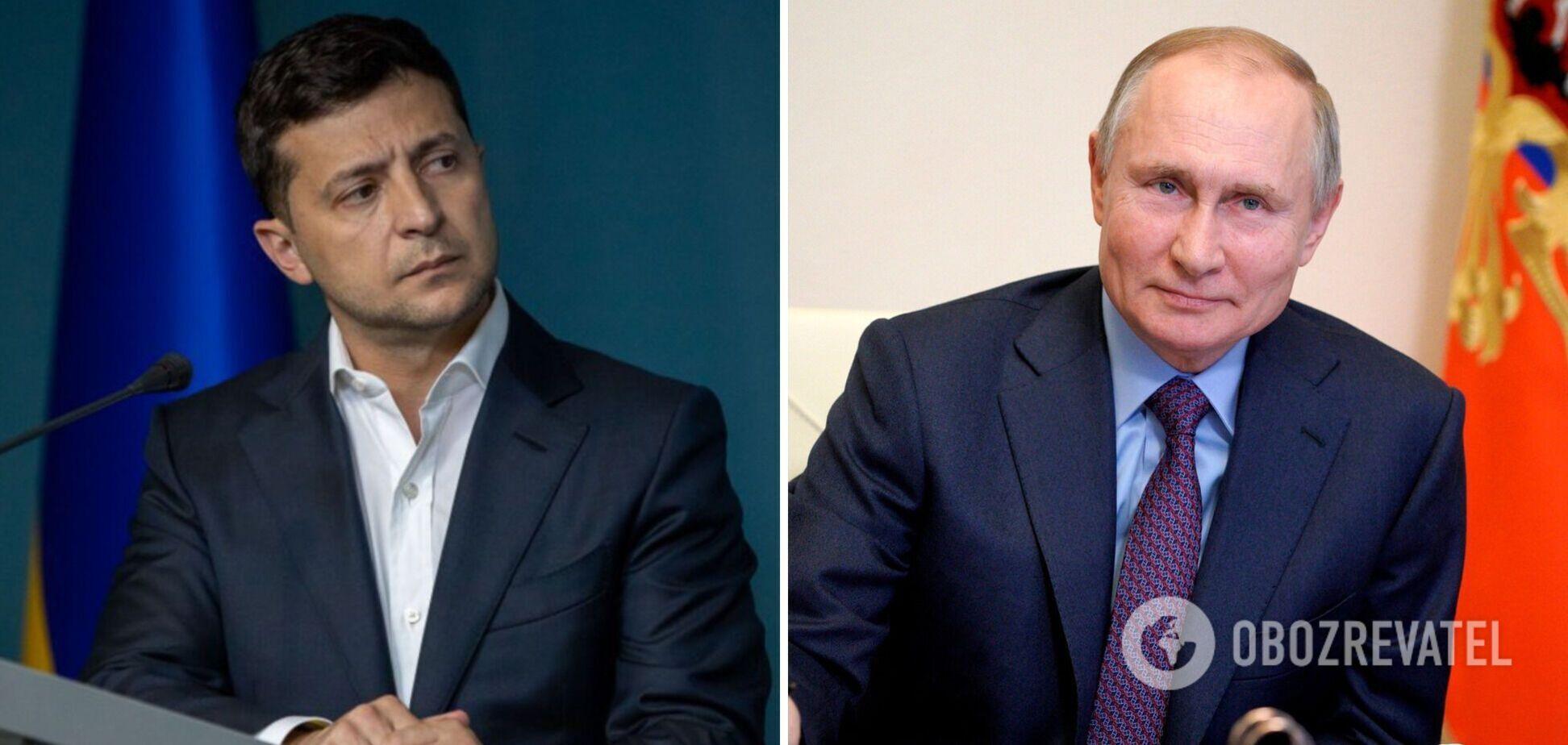 У Кремлі відкинули можливість зустрічі Путіна з Зеленським