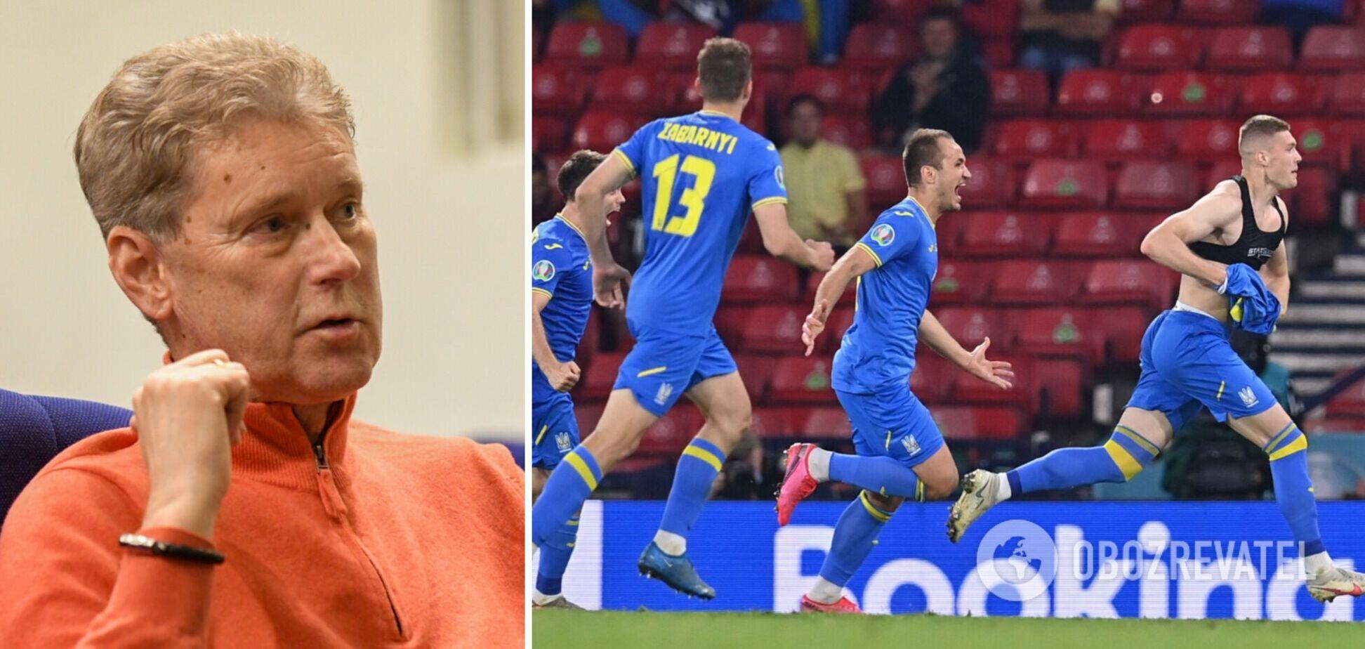 Леонід Буряк поділився думками про матч України з Англією