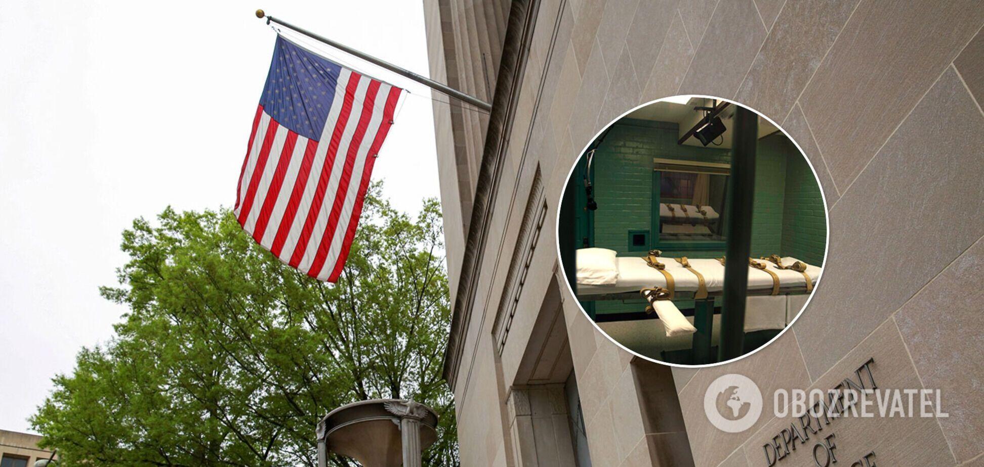 Генпрокурор США ввел мораторий на смертную казнь