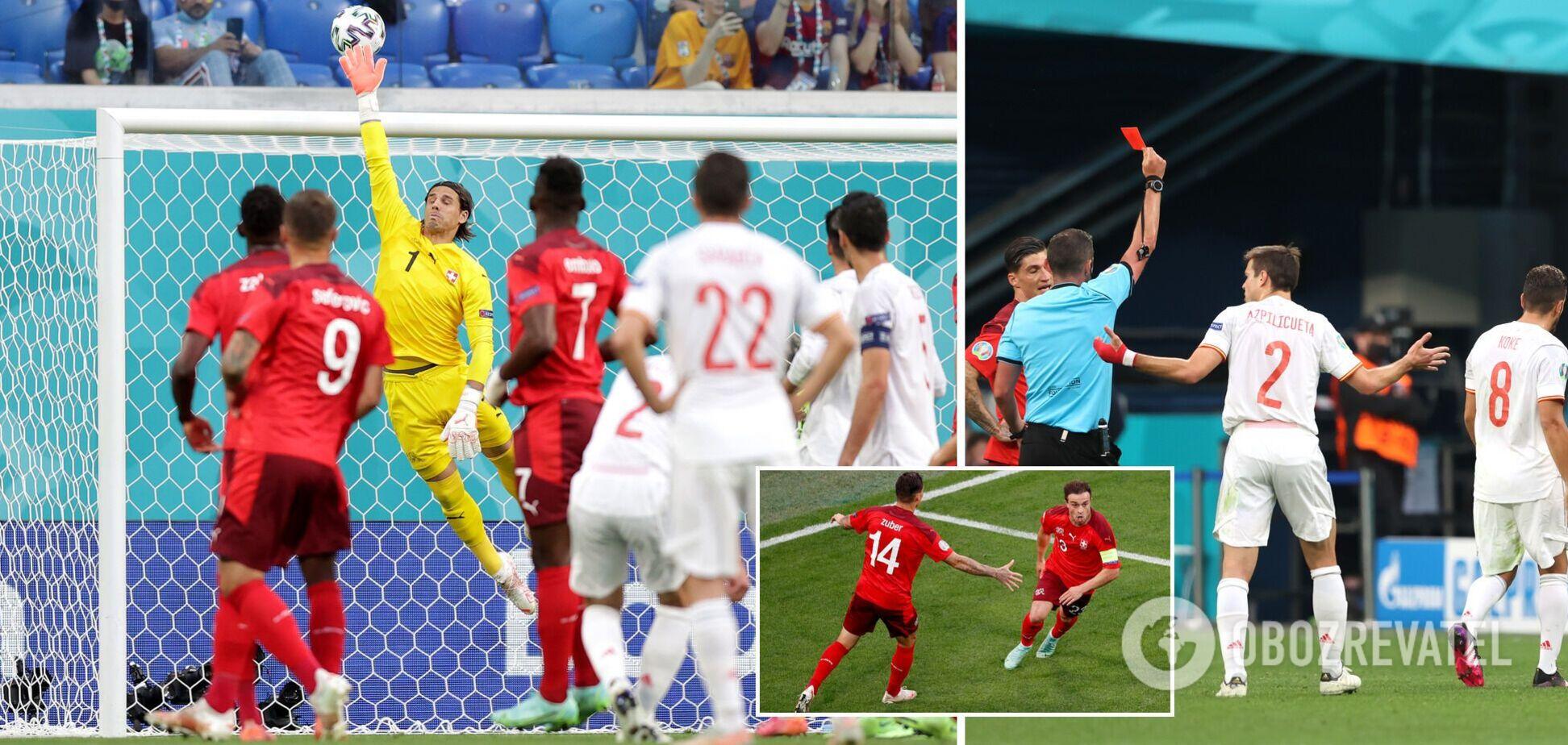 Испания в серии пенальти обыграла Швейцарию и вышла в полуфинал Евро-2020
