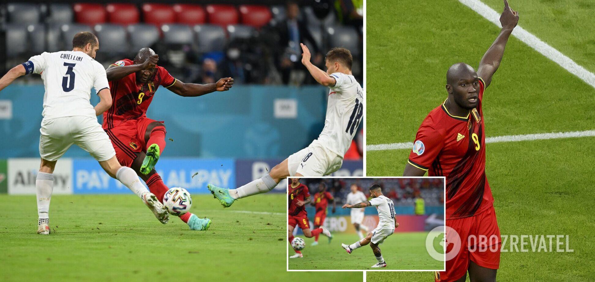 Італія в розкішному матчі обіграла Бельгію і вийшла до півфіналу Євро-2020