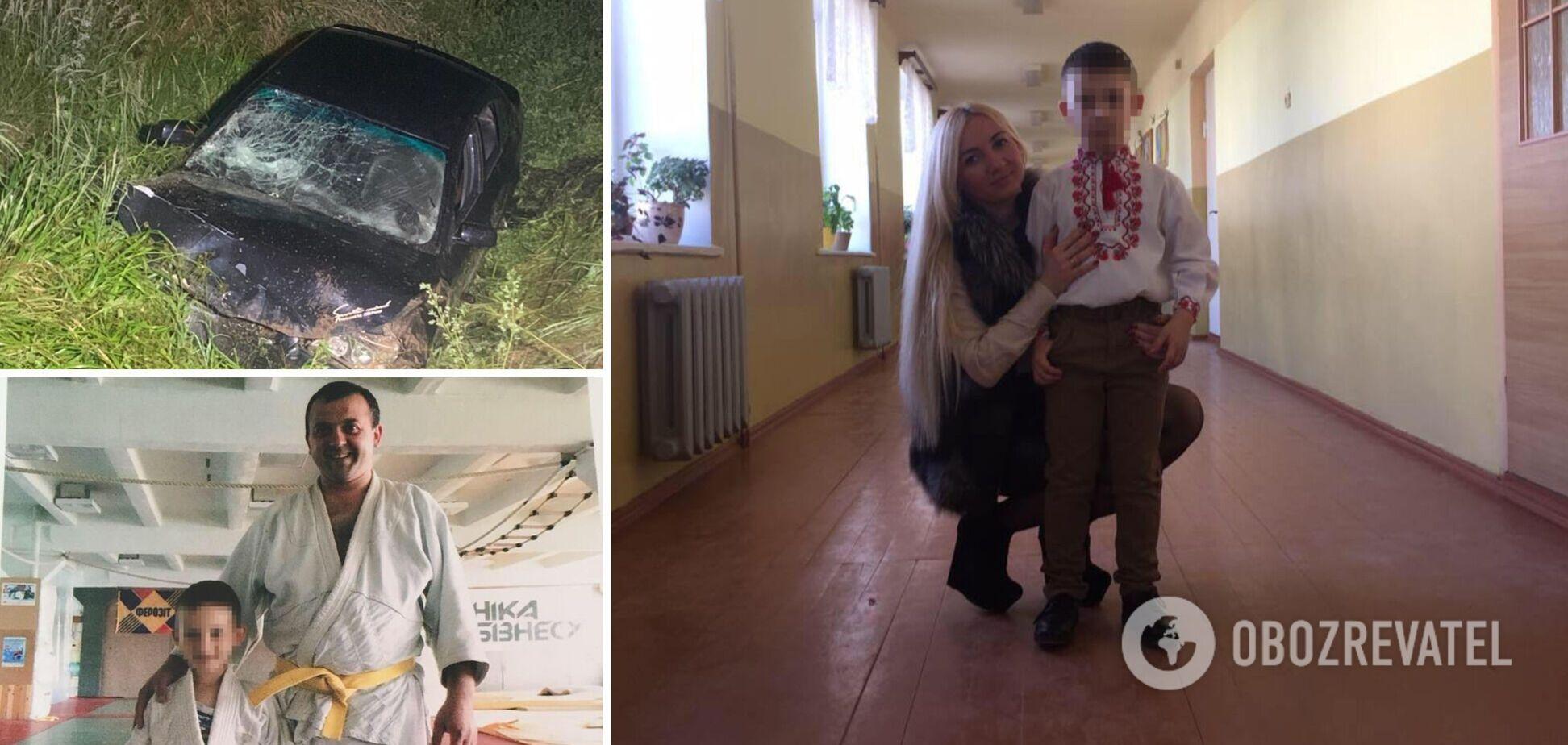 Пьяный отец, который посадил 11-летнего сына за руль, ранее работал в ГАИ: подробности смертельной аварии на Львовщине