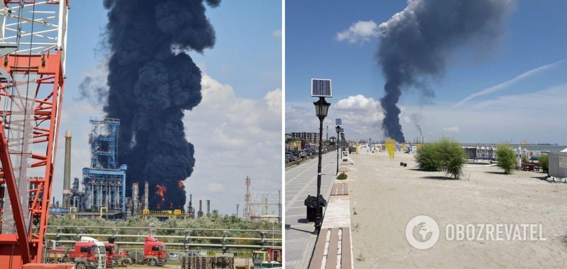 У Румунії трапився вибух на найбільшому нафтозаводі, багато постраждалих. Фото і відео моменту