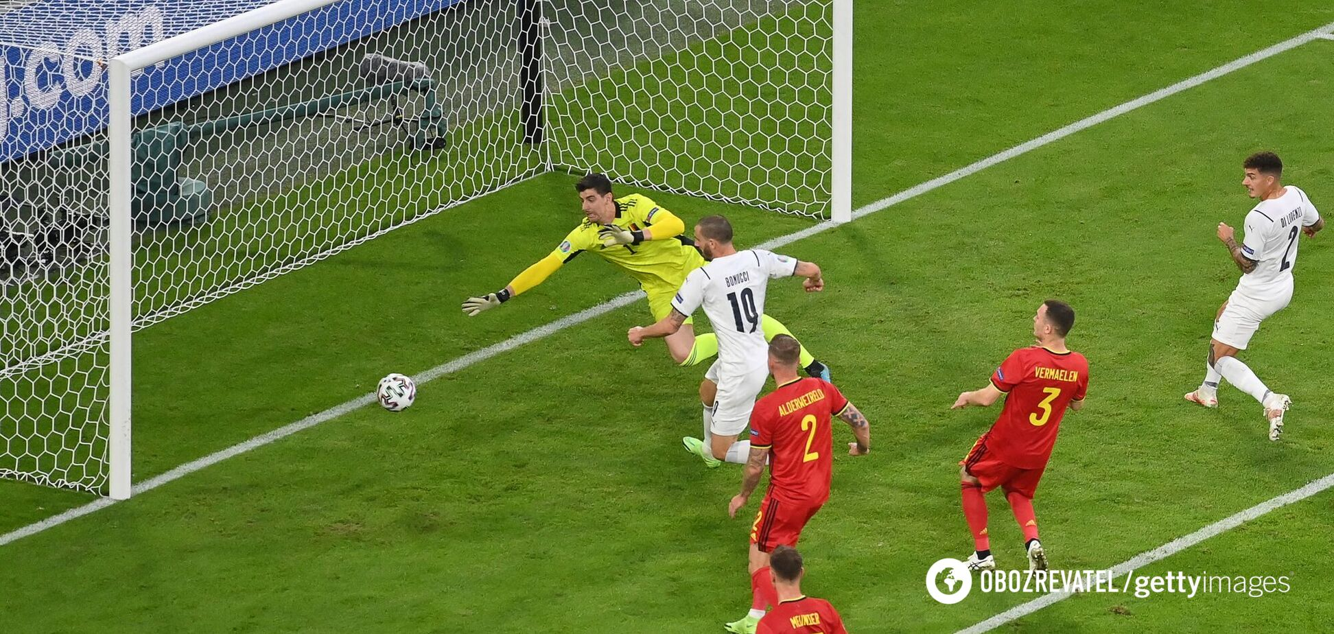 Бельгія – Італія: відео голів 1/4 фіналу Євро-2020