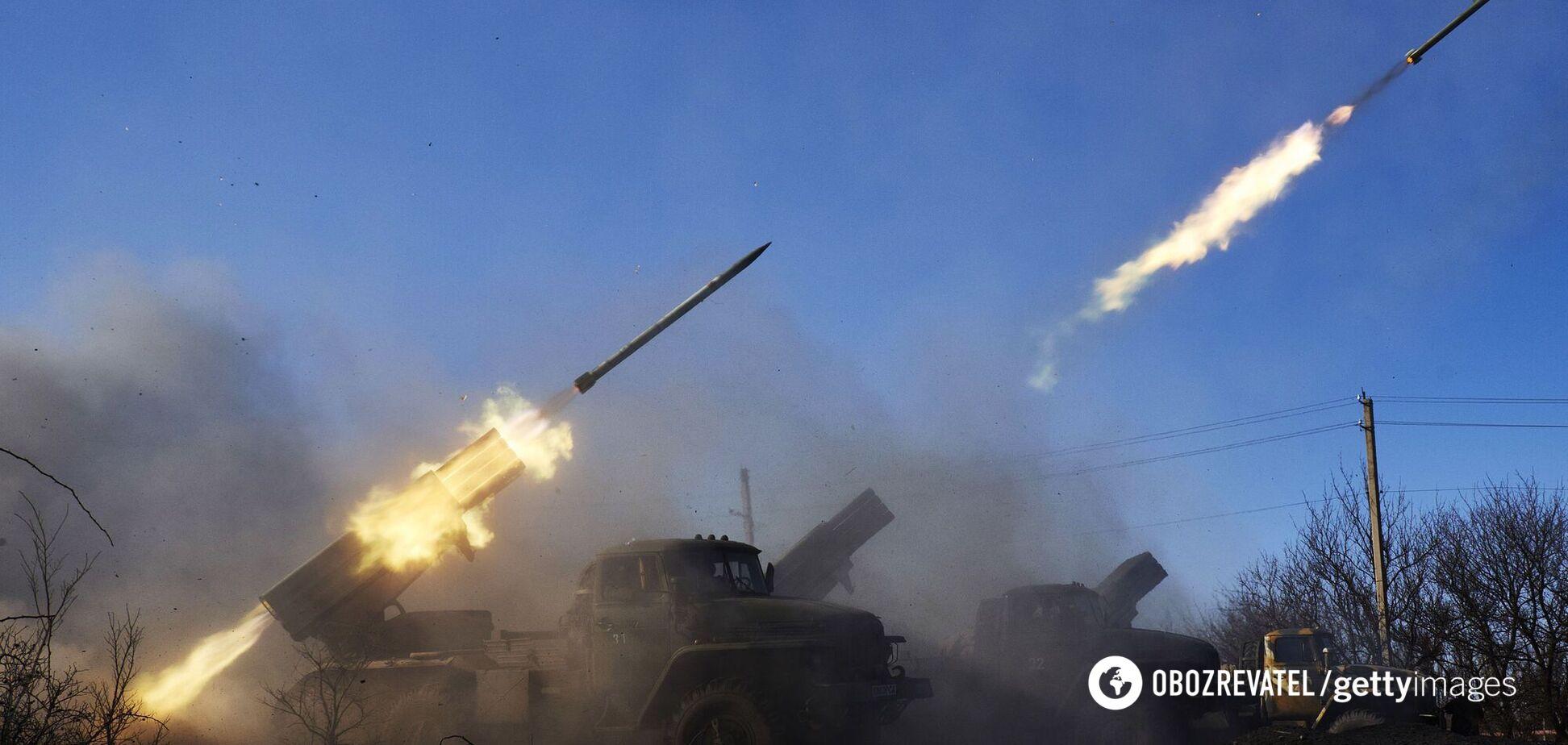Окупанти на Донбасі обстріляли ЗСУ з важкого озброєння