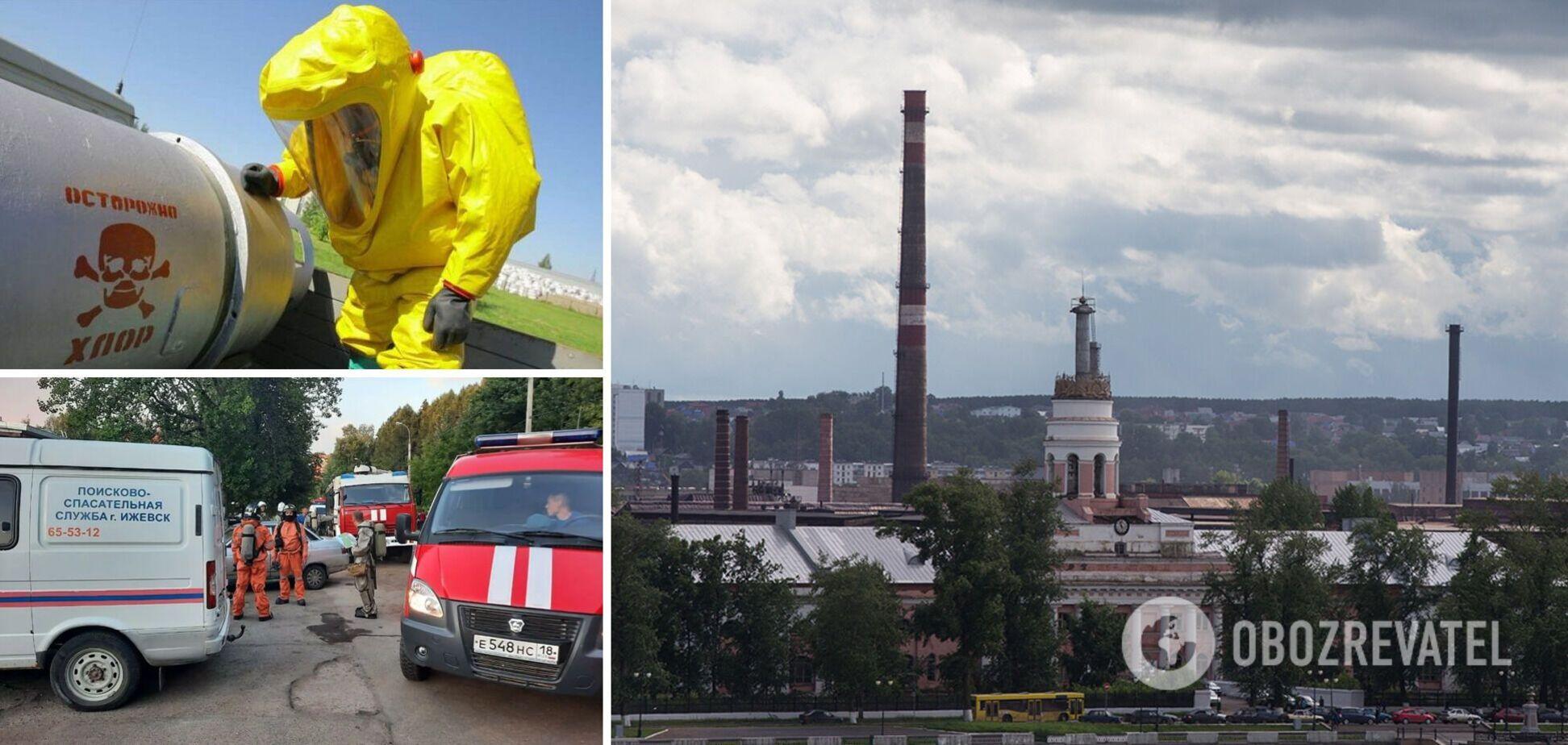 В России произошла утечка 800 кг ядовитого хлора: людей призывали срочно покинуть место 'химатаки'. Фото