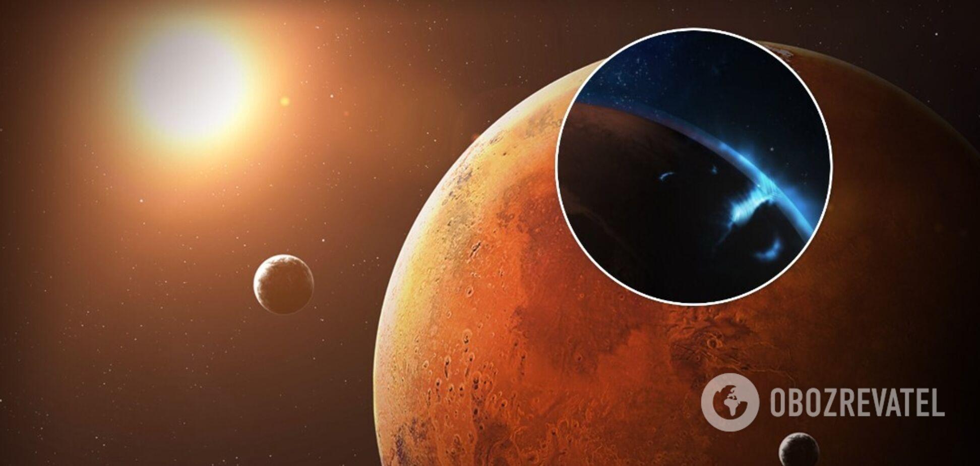 Марсіанський зонд ОАЕ зробив знімки сяйва