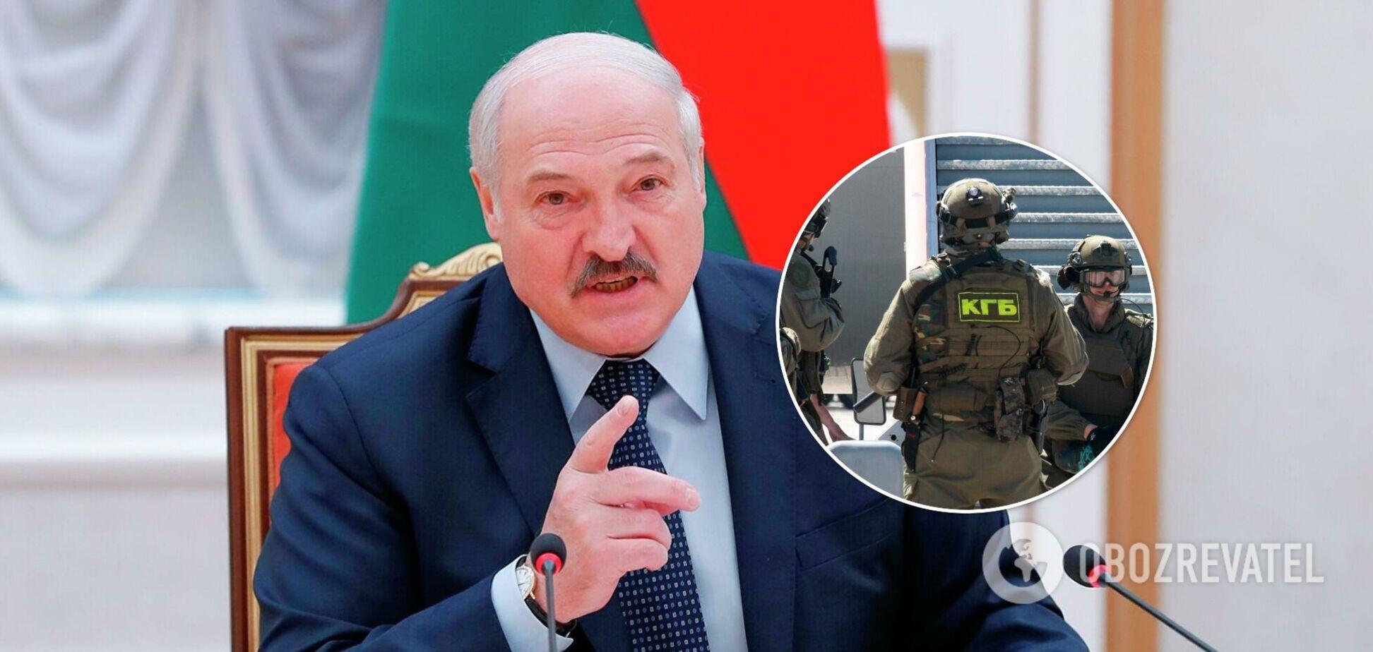 Лукашенко назвав прізвища затриманих 'терористів', які 'хотіли втекти в Україну'