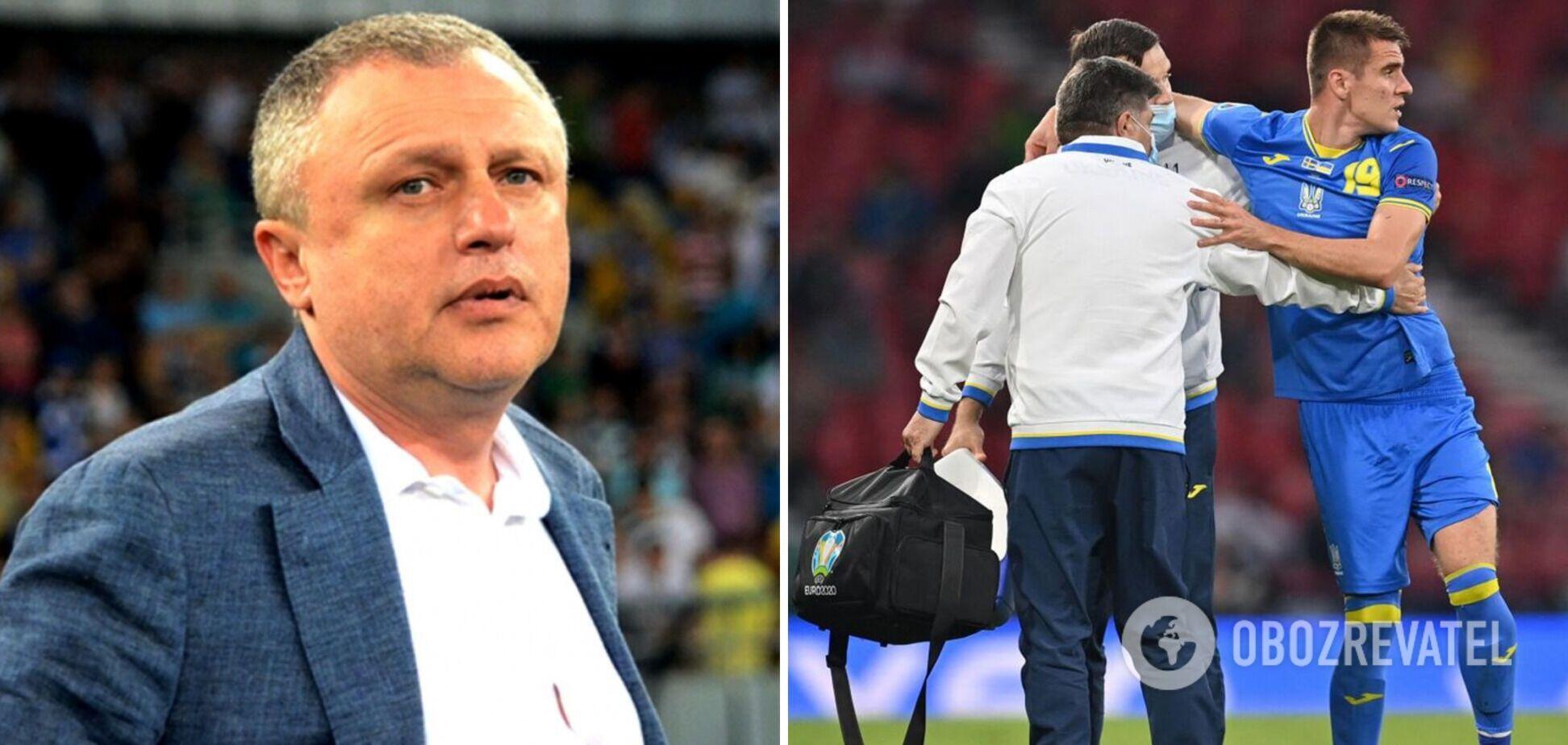 Игорь Суркис выплаты УЕФА травма Беседина