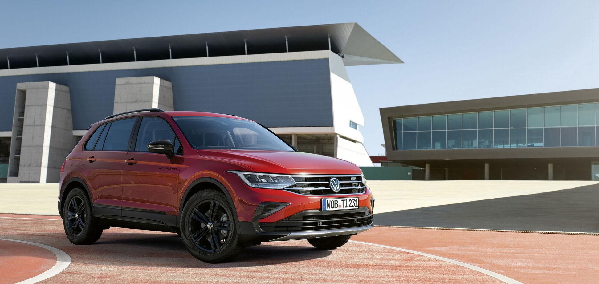 Volkswagen презентував нову версію кросовера Tiguan