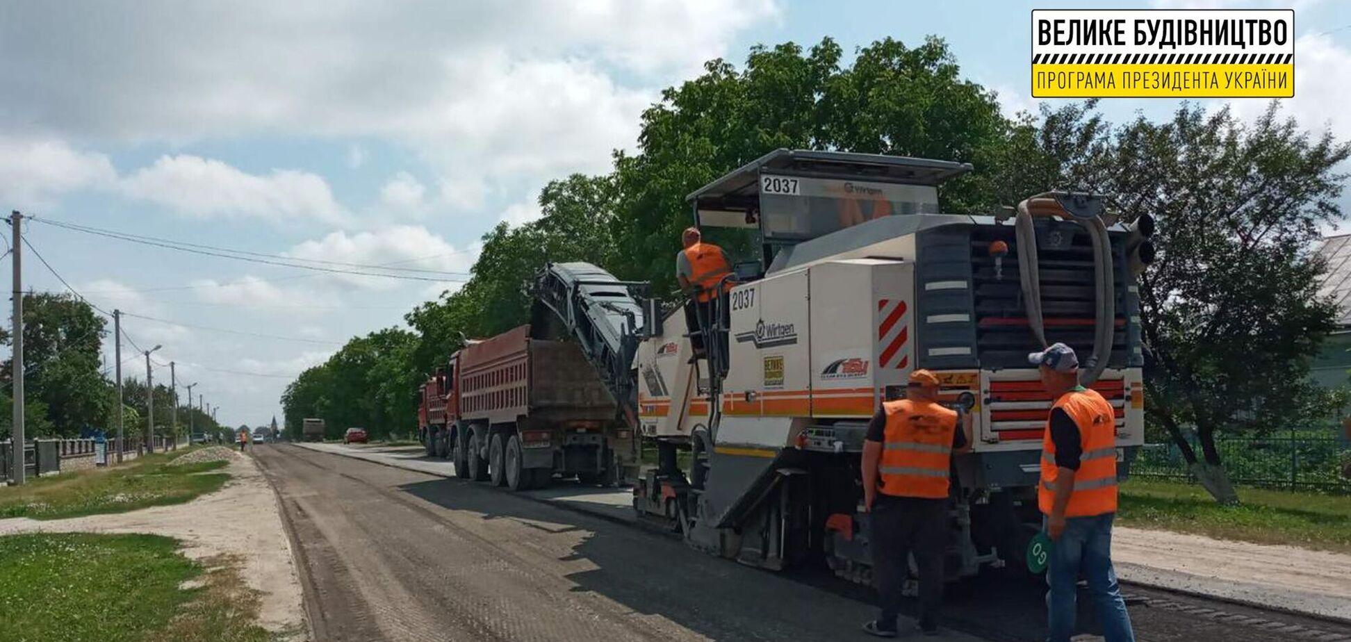 'Большая стройка': в Тернопольской области стартовал ремонт самой длинной и самой плохой дороги региона