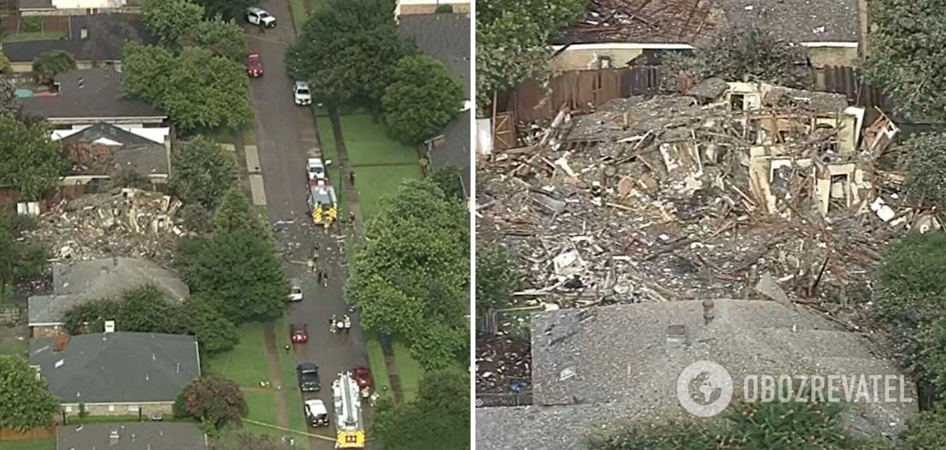 У Техасі стався вибух у житловому будинку