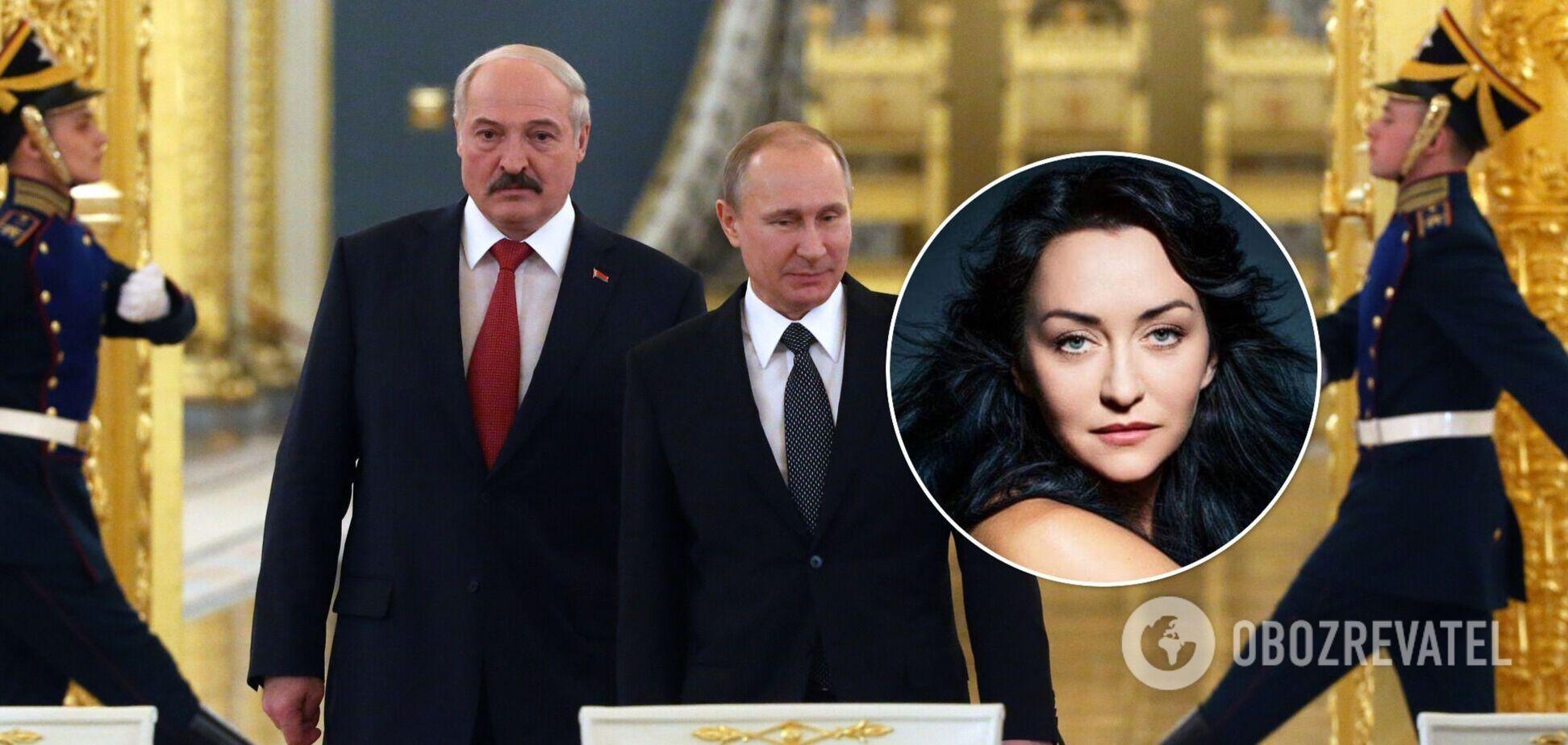 Путин помогает самоуничтожиться режиму Лукашенко, – Мартынова