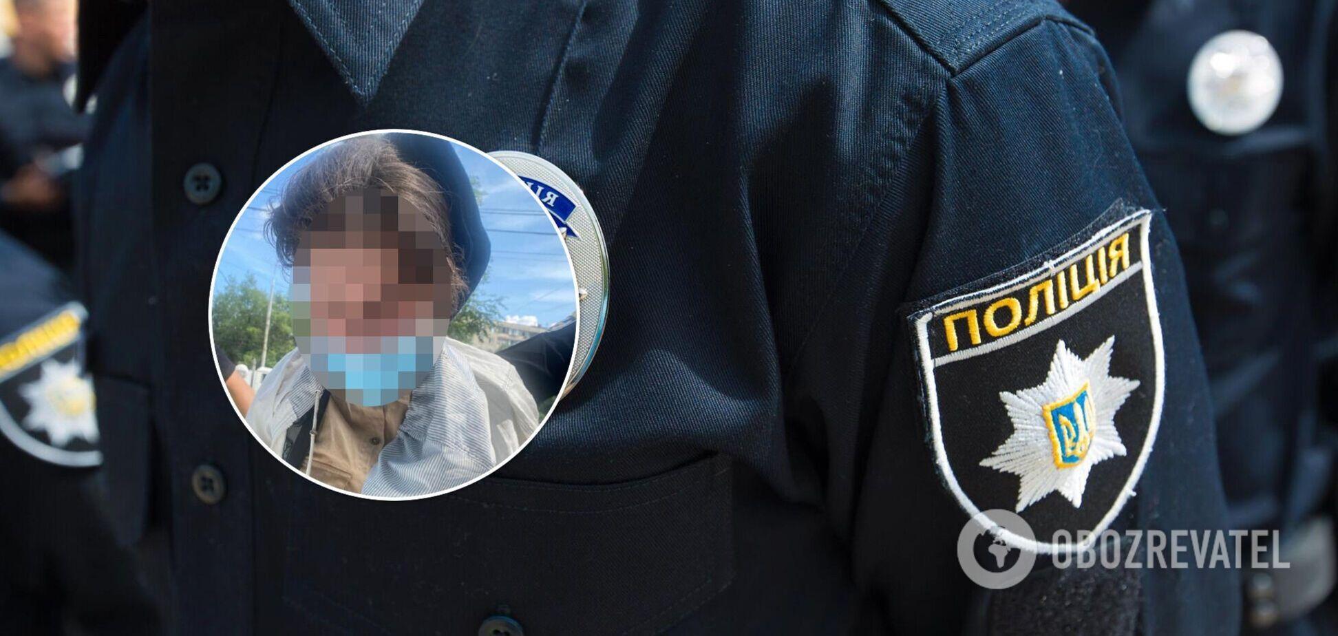 Зловмисницю затримали співробітники фінустанови