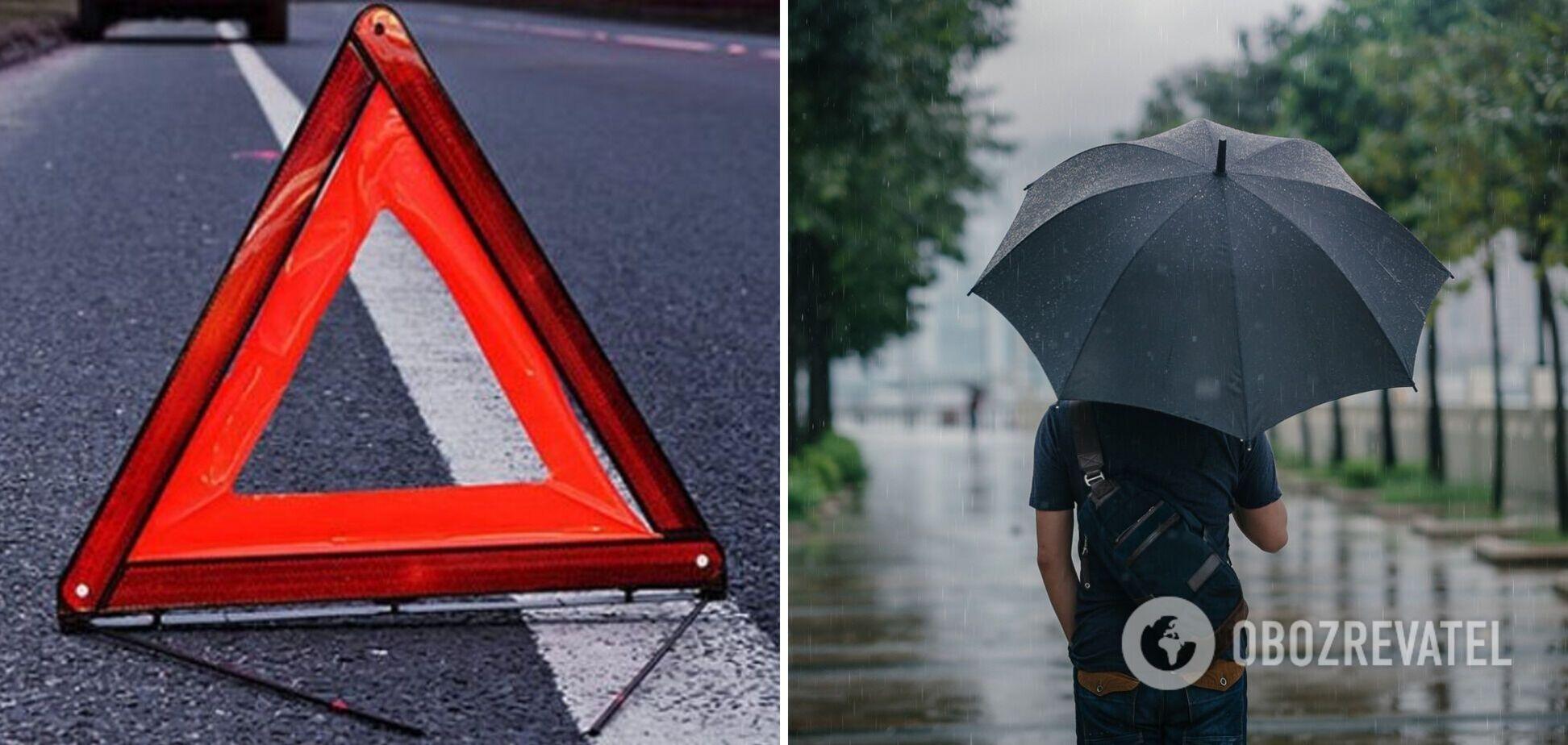 Під Одесою сталася ДТП, а синоптики попередили про дощ