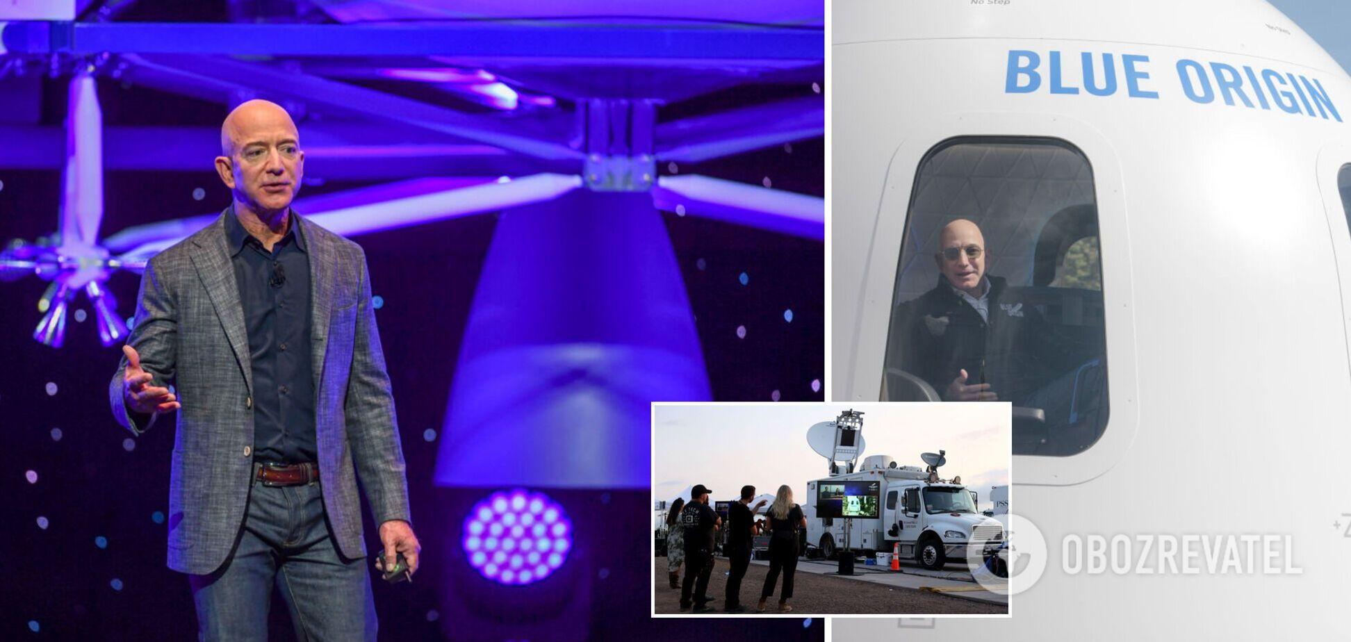 Джефф Безос на ракете New Shepard совершил первый успешный полет в космос. Видео