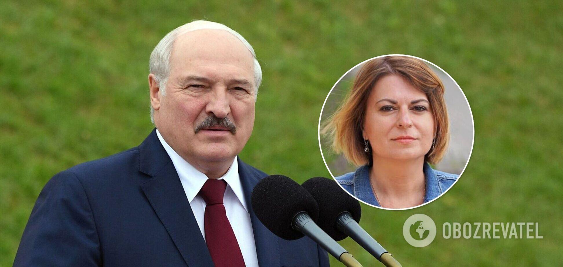 Журналист назвала Лукашенко 'колхозным диктатором'