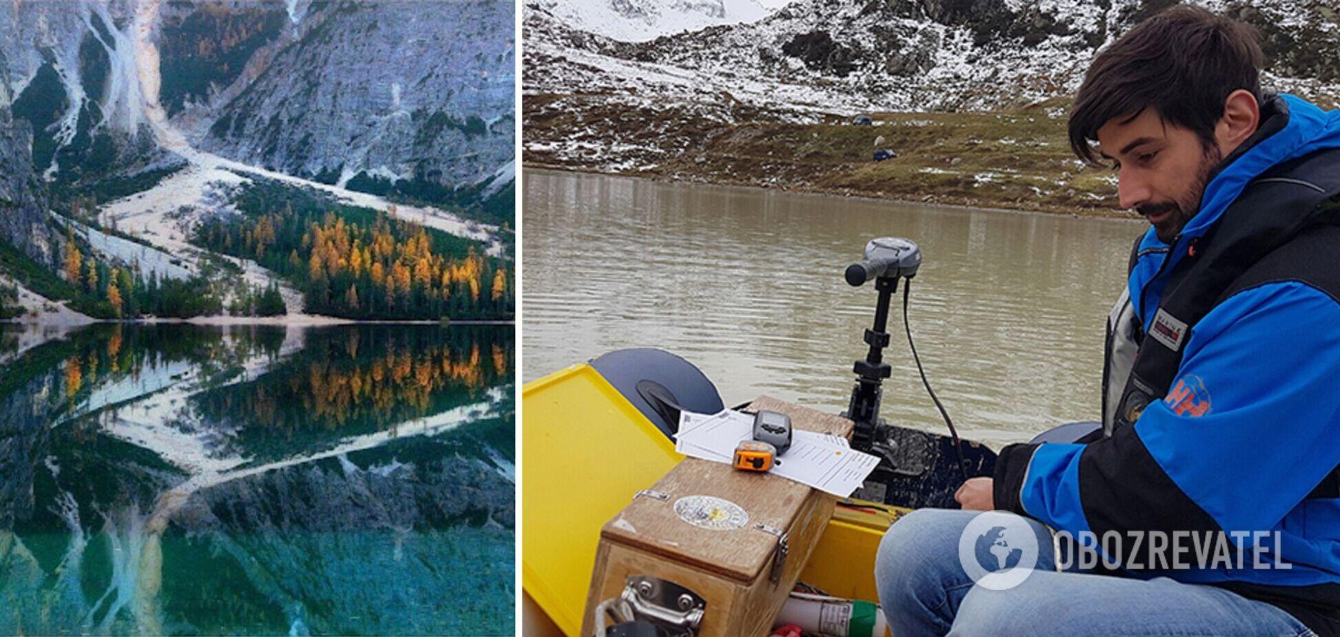 Це видиме свідчення зміни клімату в Альпах