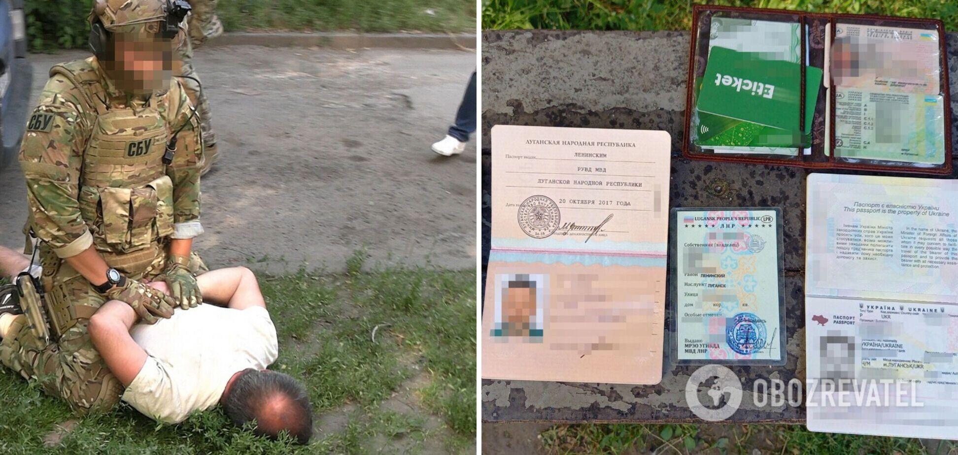 СБУ затримала колишнього 'депутата' 'Л/ДНР'. Фото