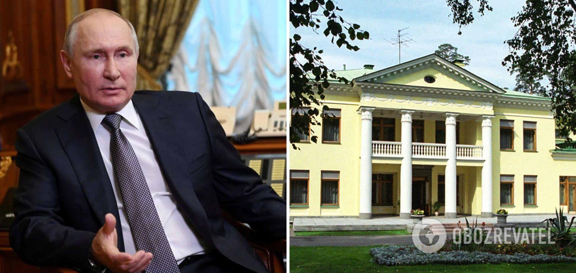 Рядом с резиденцией Путина под Москвой развернули тайное строительство. Фото и видео