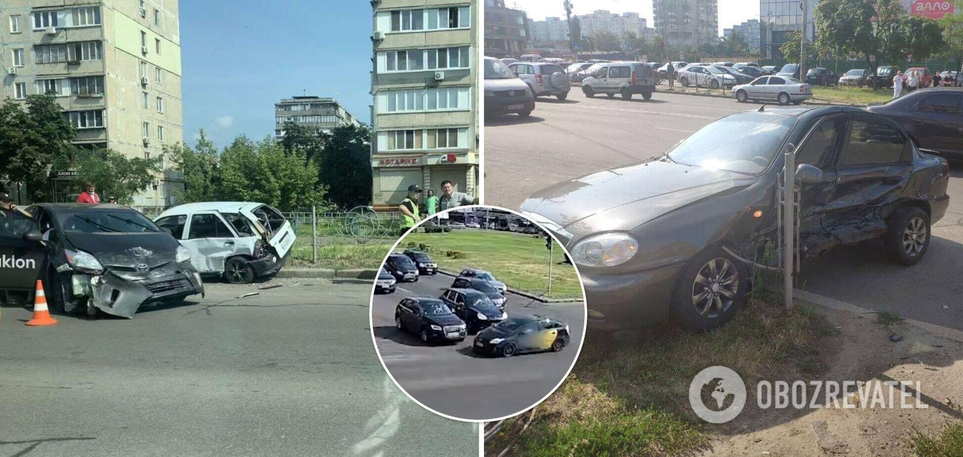 Инцидент произошел на улице Маршала Малиновского