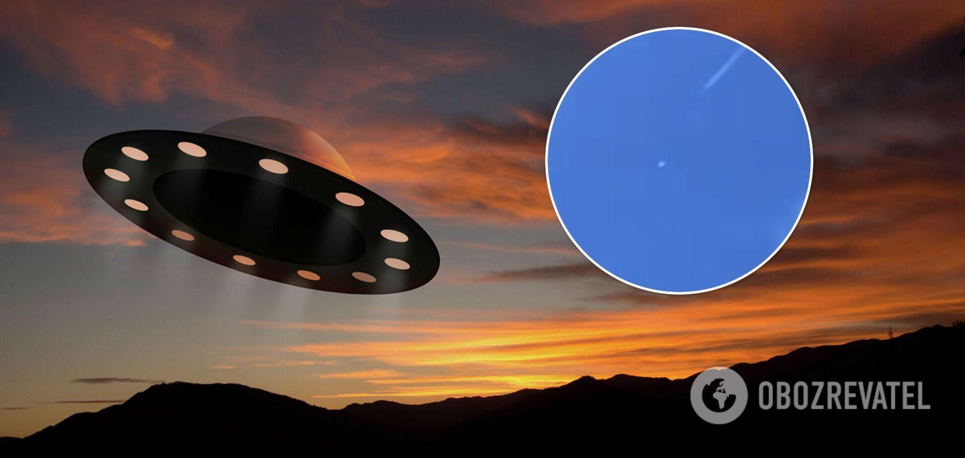 В небе над США заметили загадочный объект, похожий на НЛО. Видео