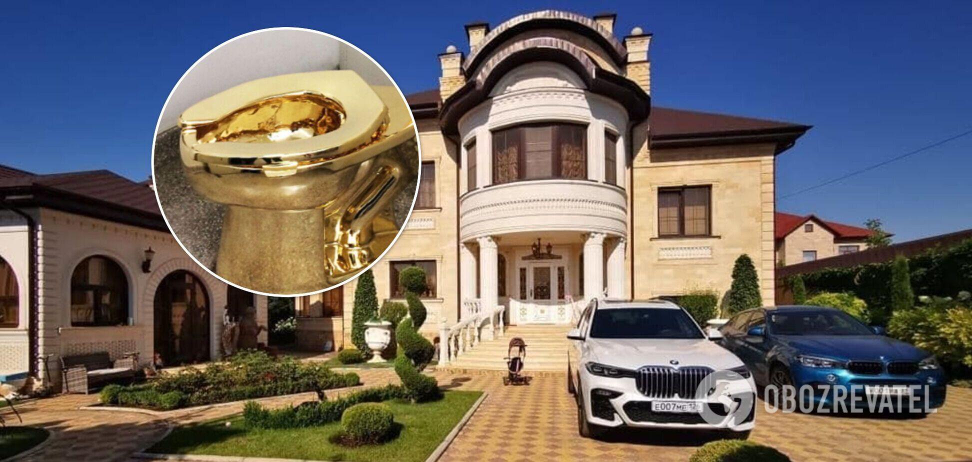 У Росії в чиновника ДІБДР знайшли палац у Пшонка-style. Фото