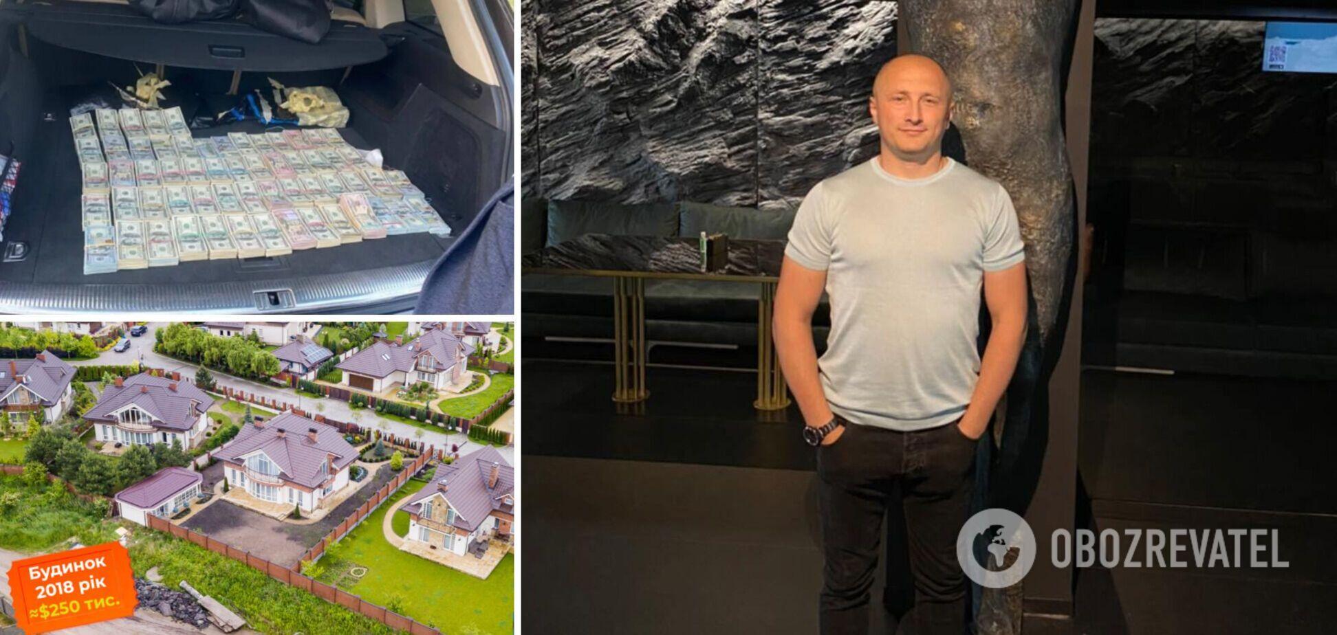 У сім'ї волинського митника, підозрюваного в контрабанді, виявили майна на $600 тисяч. Фото та відео