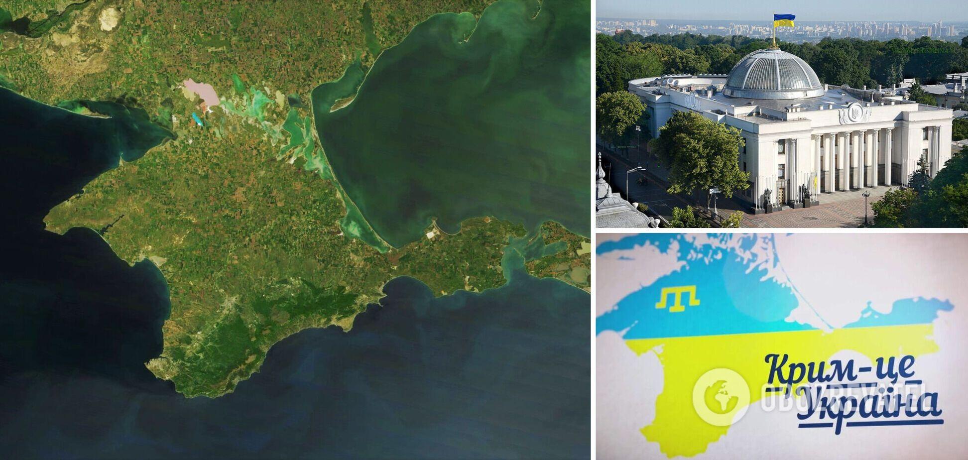 Запрет водоснабжения в Крым, закон о коренных народах и военных преступниках: что сделал парламент для деоккупации Крыма за сессию?