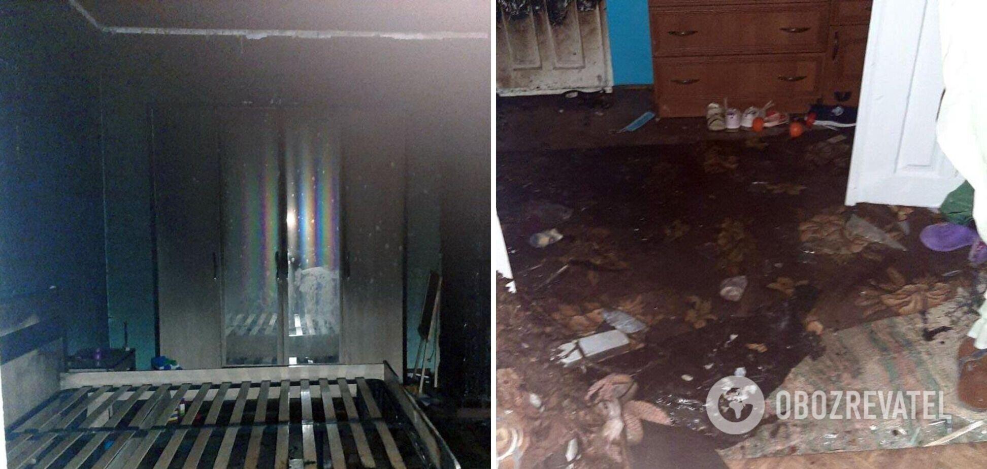 На Буковині чоловік підпалив будинок зі своєю 4-річною племінницею. Фото