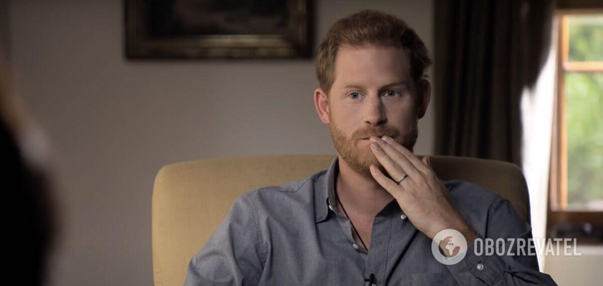 Принц Гаррі продав книгу про конфлікт із королівською родиною за 20 млн доларів