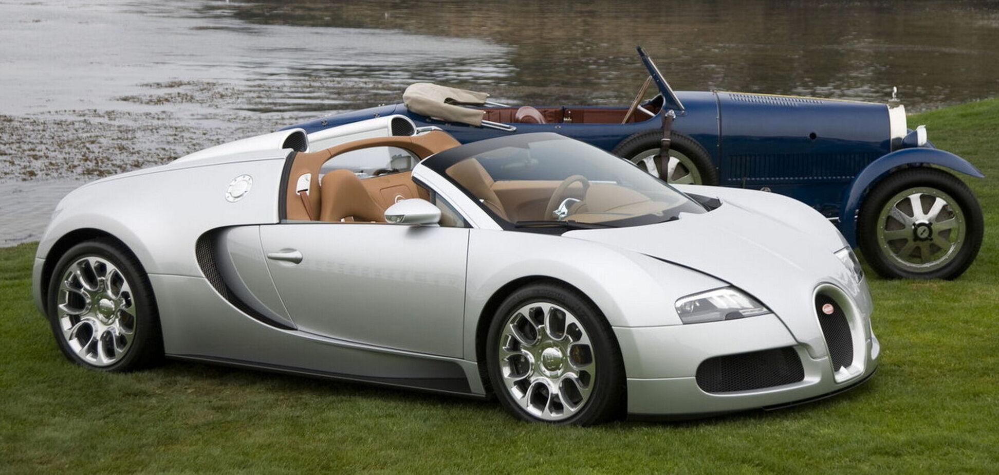 Bugatti закінчила реставрацію Veyron Grand Sport Prototype
